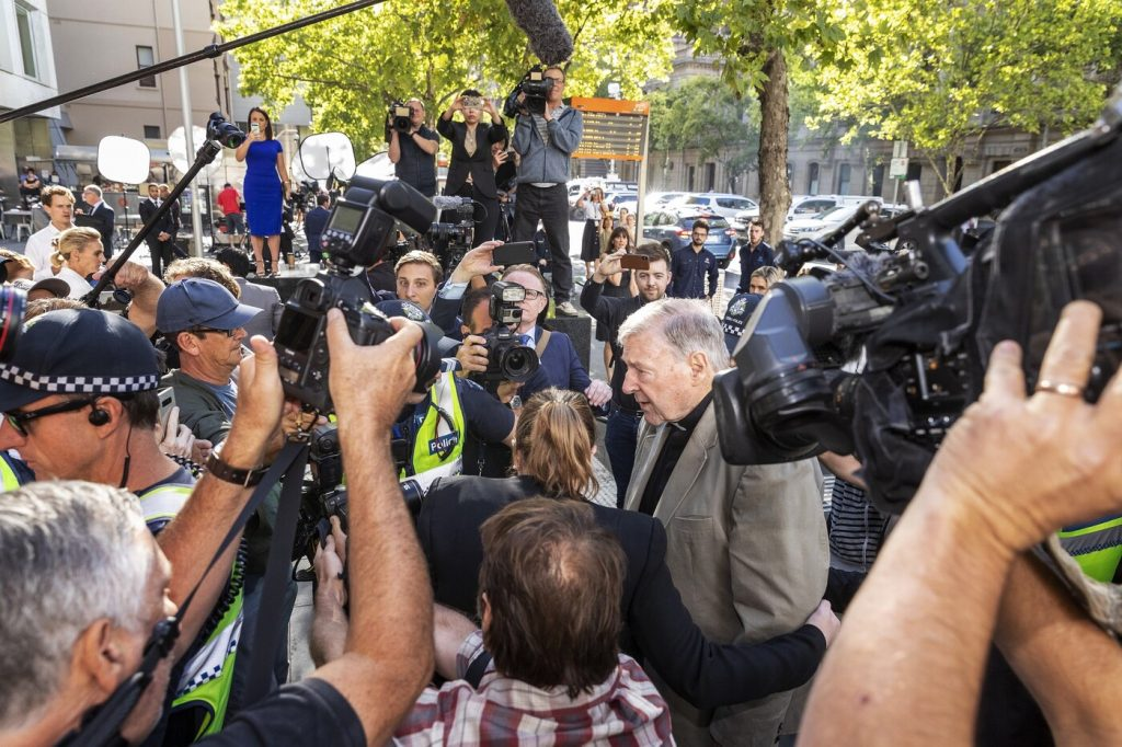 In Australia, the media condemned articles referring to Cardinal Bell's trial