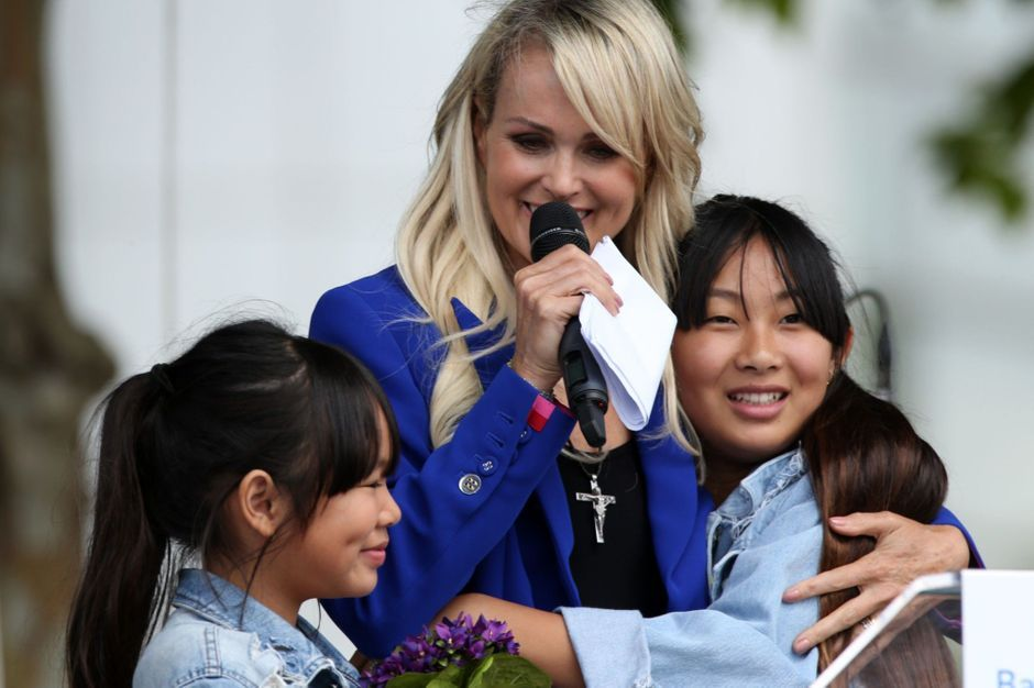 Leticia Hallyday, her sweet letter to her daughter Jade's friend
