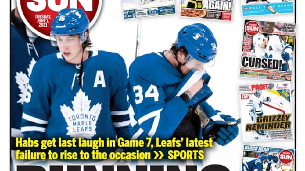 Maple crucified by Toronto Media