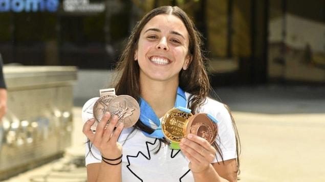 Megan Benfetto regains his Olympic medals