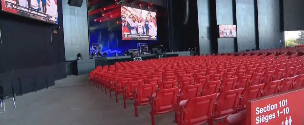 Montreal Canadiens: 1,600 fans gathered at the Cojico Amphitheater in Trois-Rivieres