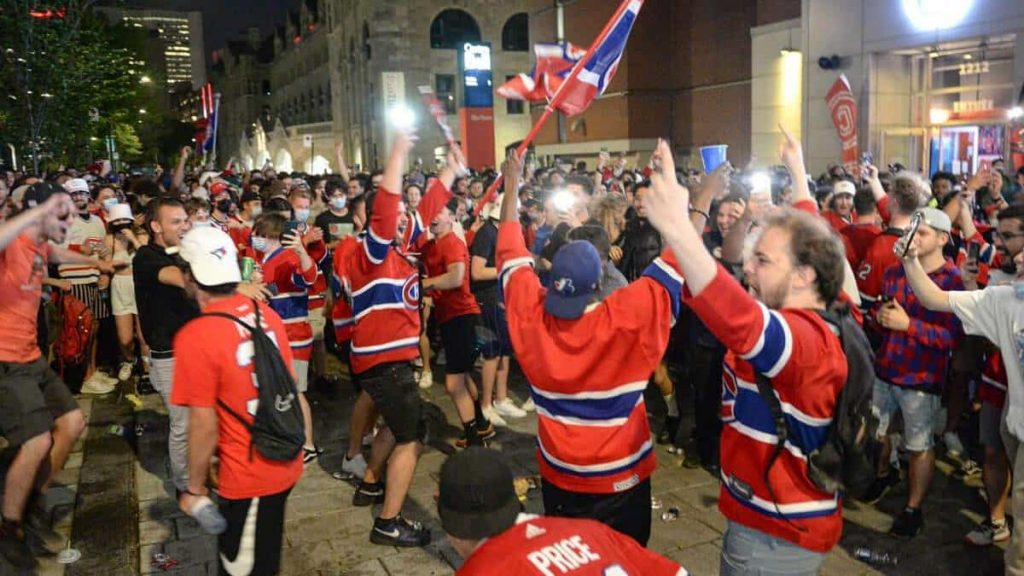 Montreal Canadiens fans stayed in suspense until the end
