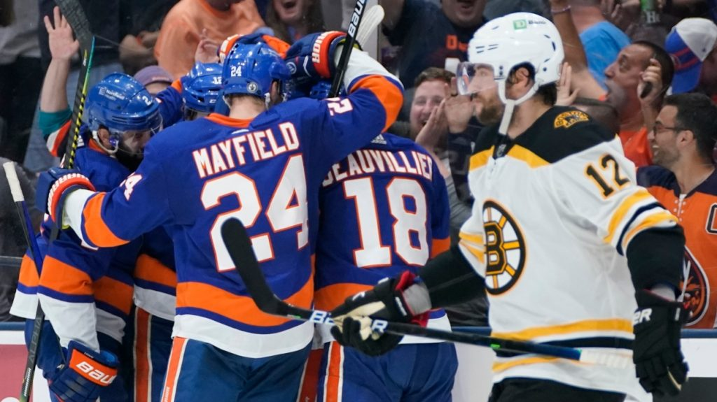 NHL: The Bruins are eliminated in six games by the Islanders