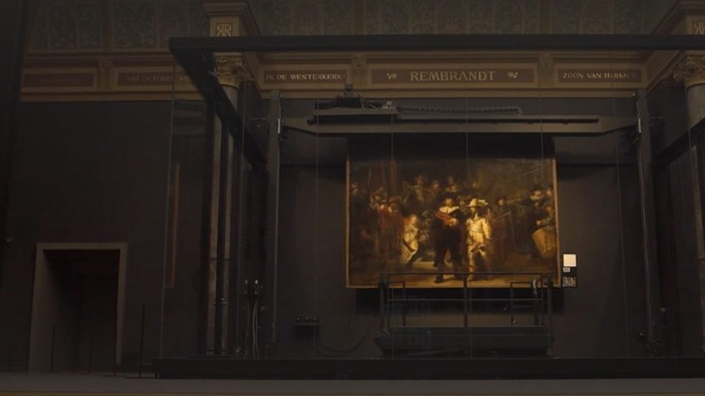Rembrandt's Night Watch is brought to life thanks to artificial intelligence