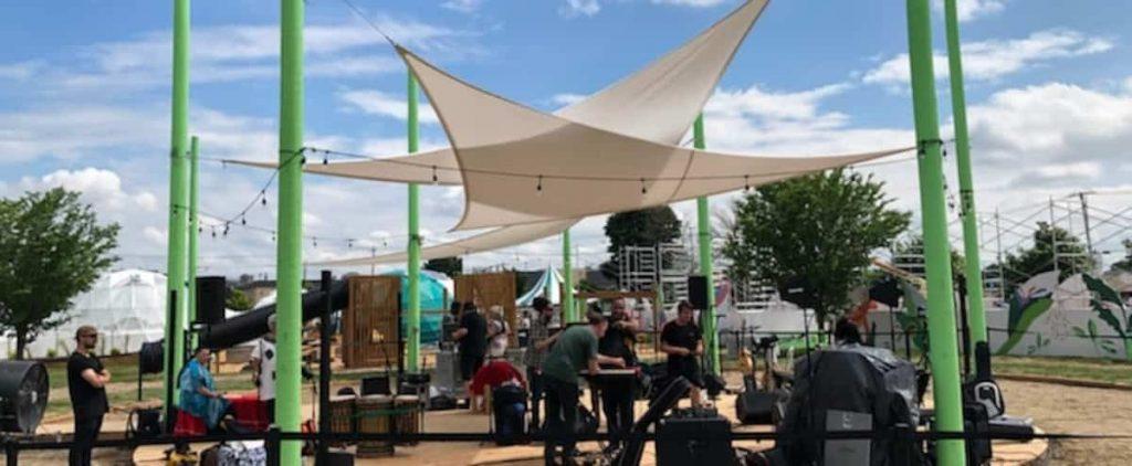 Revitalizing fleur de lis: green space before bricks and mortar