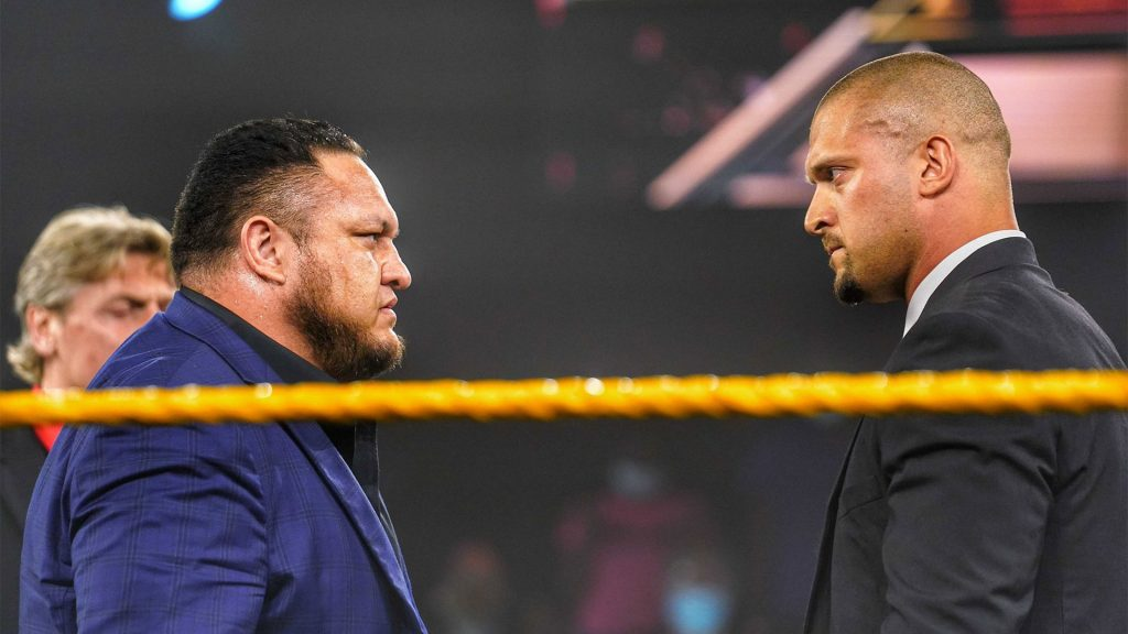 Samoa Joe returns to WWE!