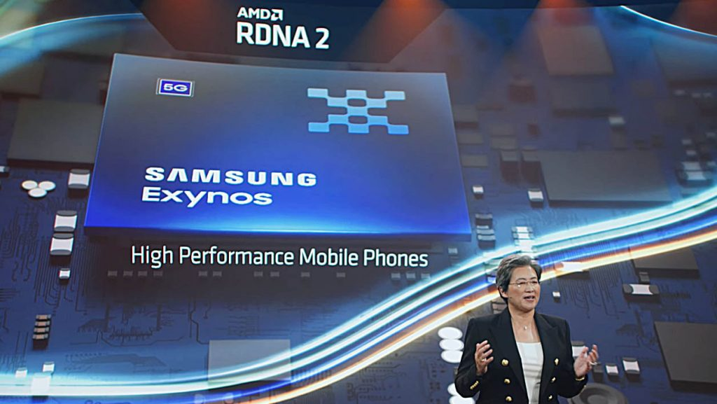 Samsung's future mobile chip, equipped with an AMD GPU, will manage ray tracing