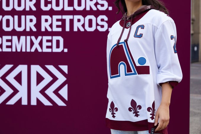 The Avalanche T-shirt is a player's favourite