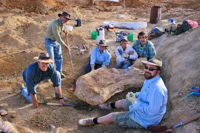 Specimens of this group of long-necked plant dinosaurs have been found on all continents.