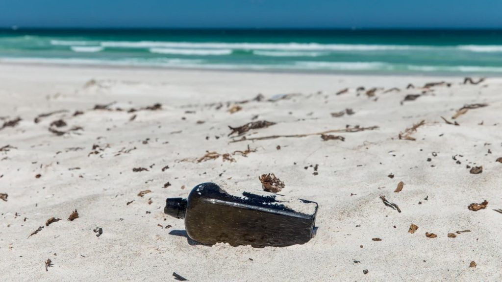 The oldest coastal bottle in history is found in Australia