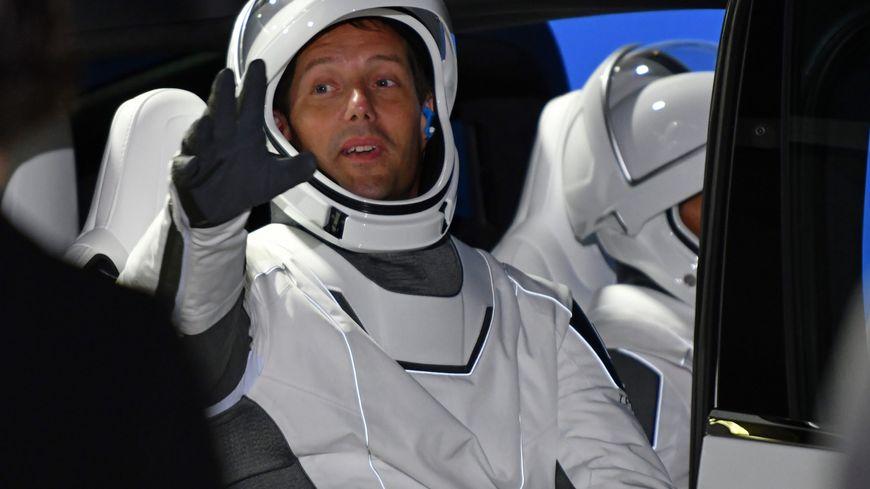 Thomas Pesquet est en mission dans la station spatiale internationale jusqu'en septembre prochain.