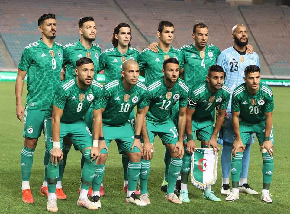 Tunisia 0-2 Algeria, the record for the Greens