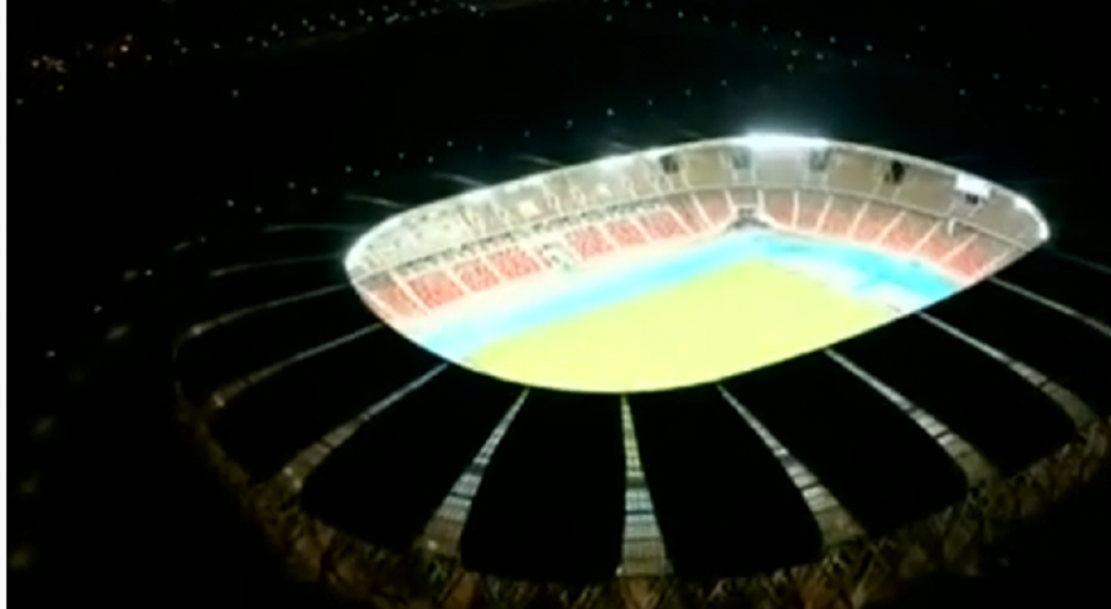 Video.  The new stadium in Oran from the sky