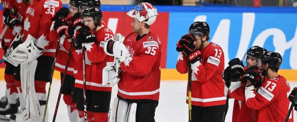 World Hockey Championship: Canada is ahead and can thank Germany