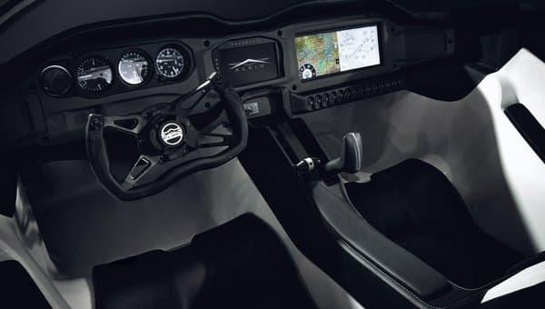 AirCar dashboard