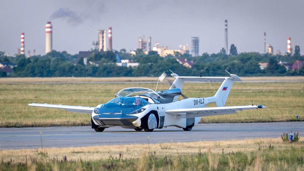 A Slovak startup turns science fiction into reality with its flying car سيارته