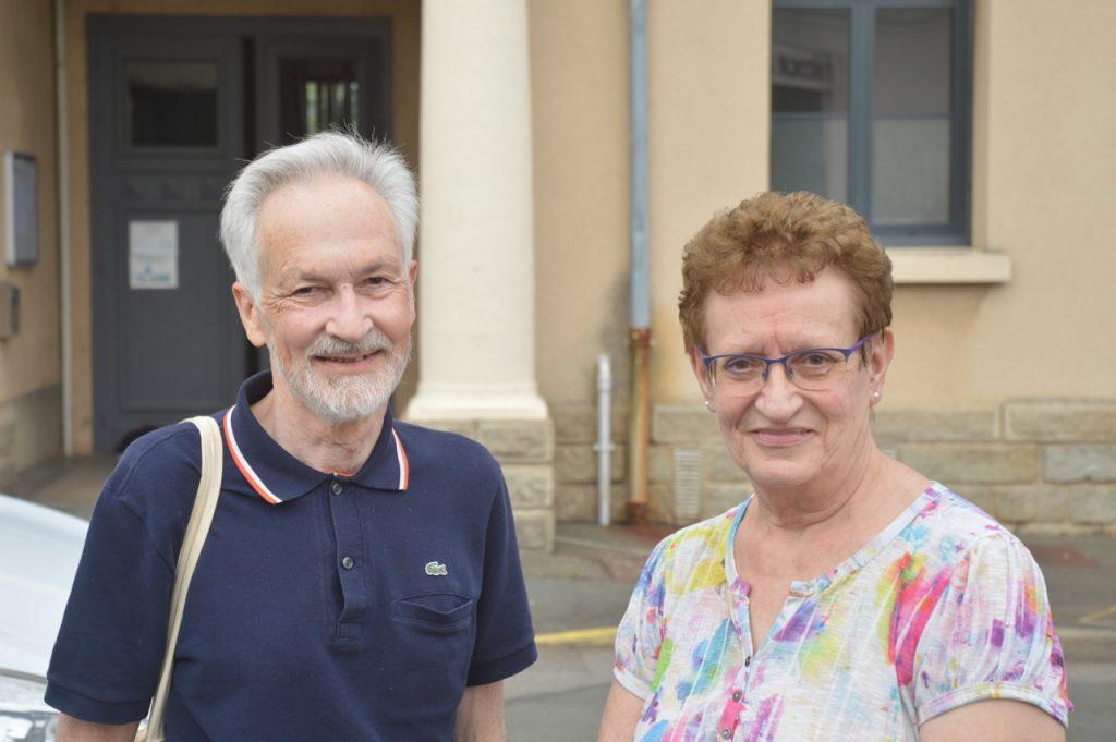 Raymond et Colette ont tenu à être présents lors de la remise de don à l