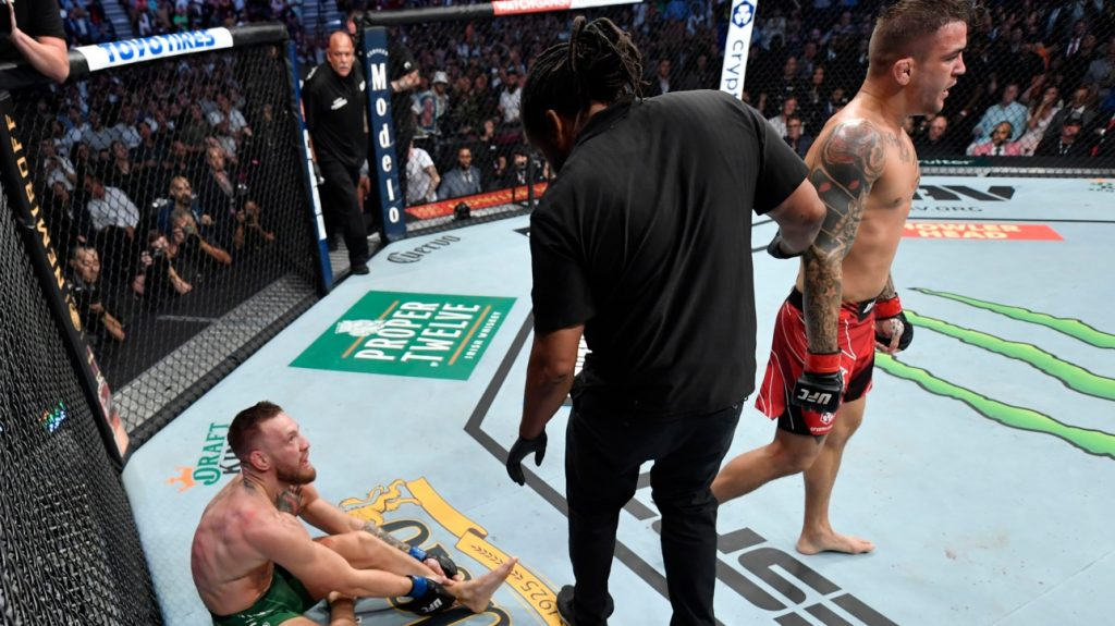 UFC 264: Conor McGregor breaks his ankle;  Dustin Poirier wins Chapter 3 of the treble