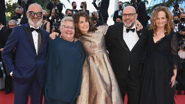 Aline, a film about Celine Dion, and her film in Quebec in Cannes