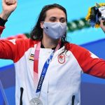 Canada's Kylie Maas wins silver in the 200m backstroke