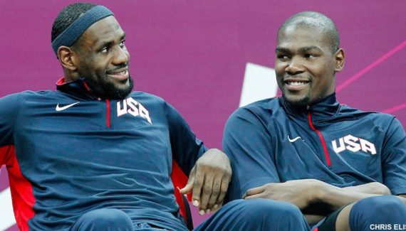 Is the USA team's golden age over?     NBA