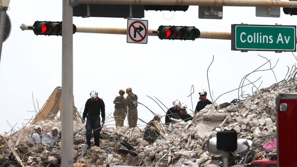 60 confirmed deaths two weeks after Florida building collapse
