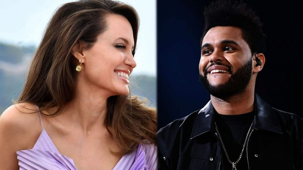 A mysterious evening at Angelina Jolie's restaurant and The Weeknd