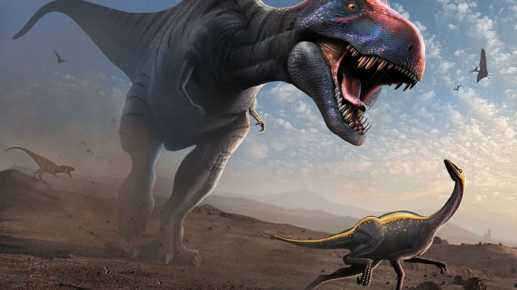 A study found that dinosaurs were on the verge of extinction before the devastating asteroid