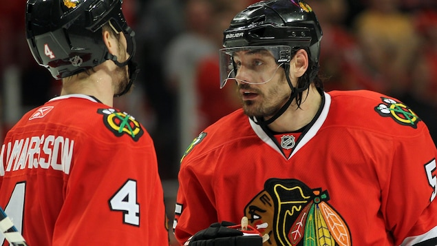 Brent Sobel says Blackhawks players were aware of the allegations