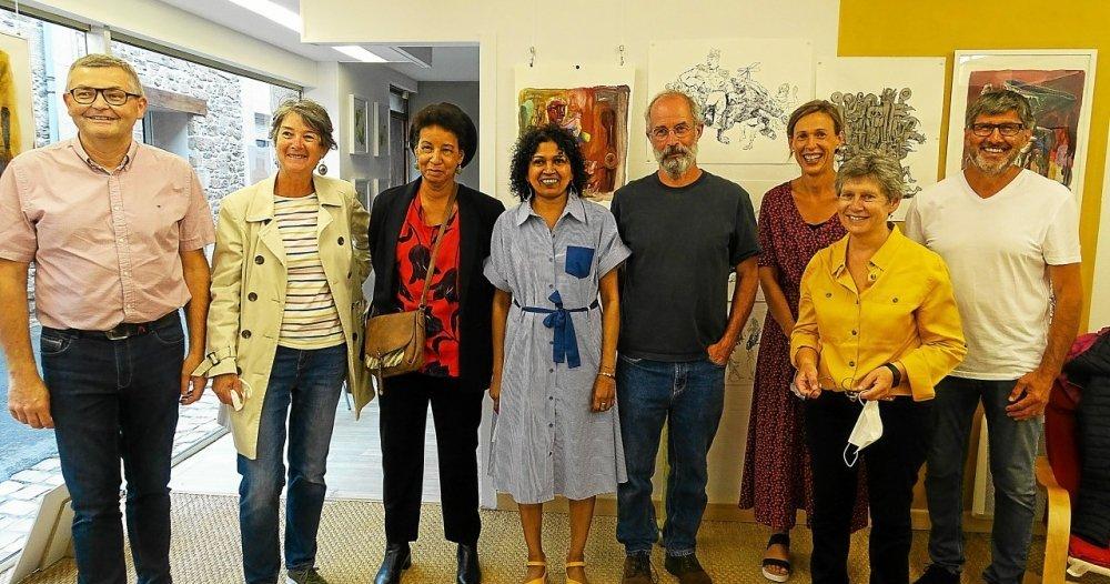 Cultural Bazaar, a new space for the artistic opening in Saint-Paul-de-Leon - Saint-Paul-de-Leon