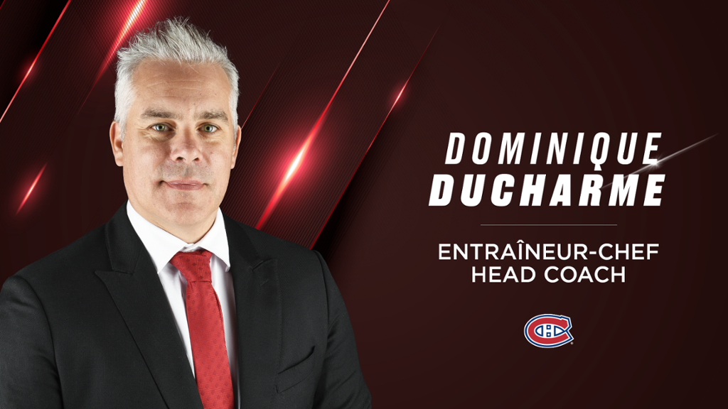 Ducharme becomes the 31st coach in Canadian history