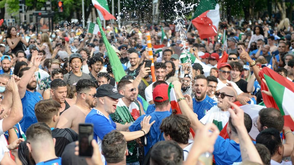 Euro: Little Italy enjoying their team's victory