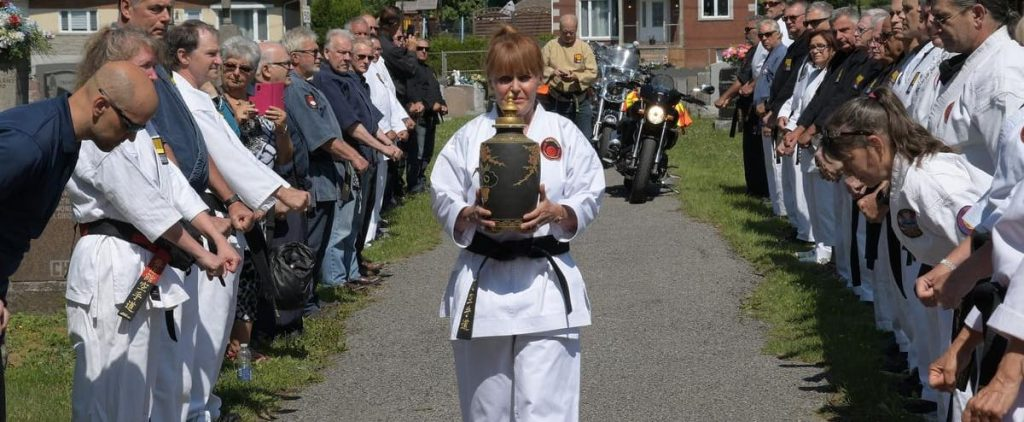 Final farewell to the great martial arts master