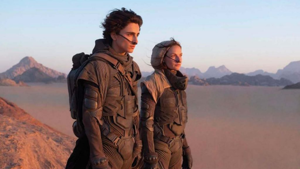 Dune Warner Bros Rebecca Ferguson Timothée Chalamet