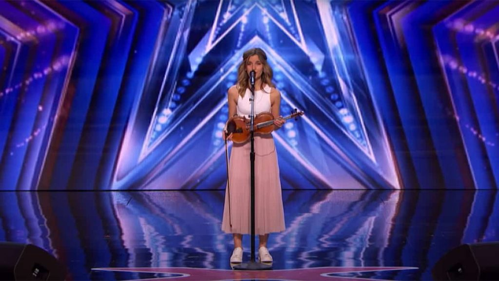 Gabriella Laberge reflects on her performance as America's Got Talent