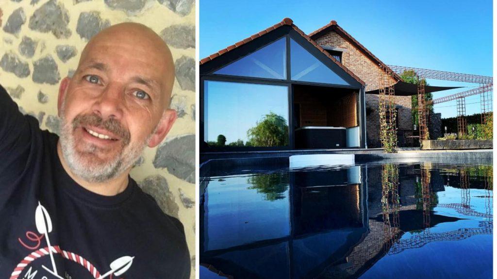Raymond Pollet a réalisé son rêve en créant son espace wellness.