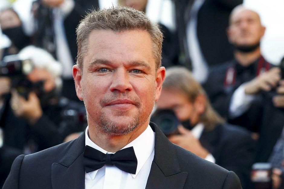 Matt Damon, American star in Croisette
