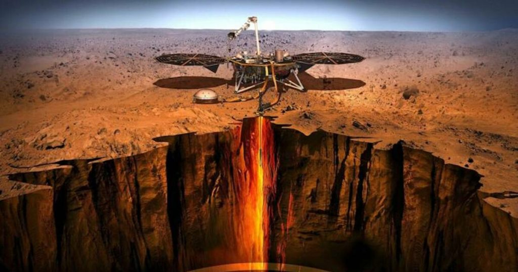 NASA's InSight probe offers an unprecedented glimpse into the bowels of Mars