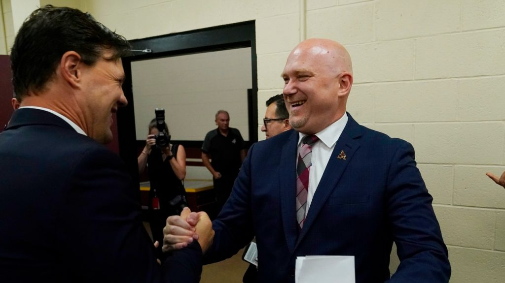 NHL: André Tourigny looks forward to the season as Coyotes head coach