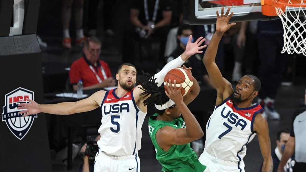 Olympic Games: USA beat Nigeria in basketball