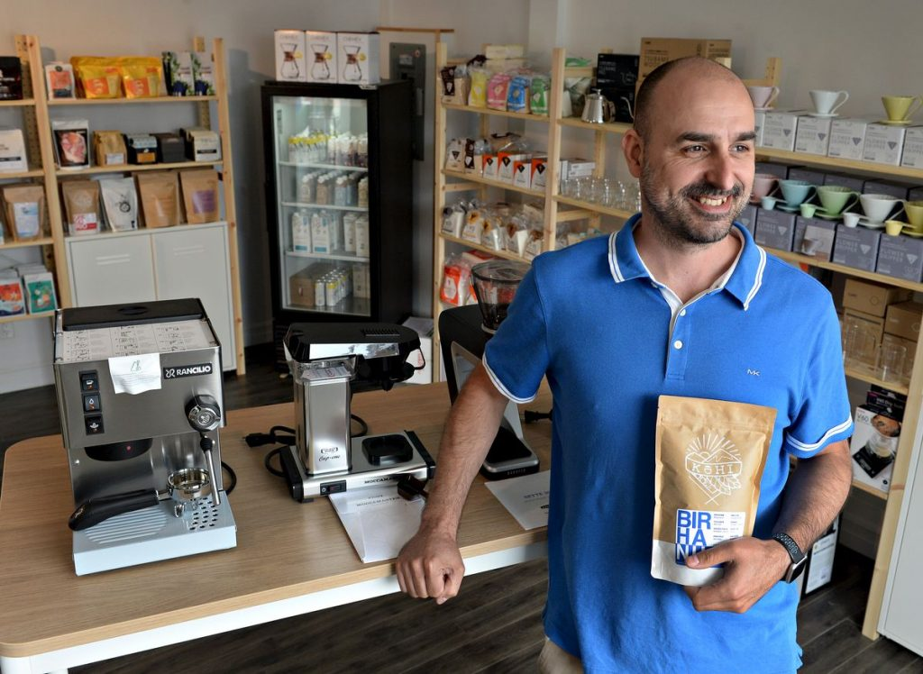 Opening of a coffee 'basement space' in Montcalm    business    the sun