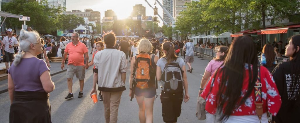 Outdoor festivals and events will accommodate up to 5,000 people