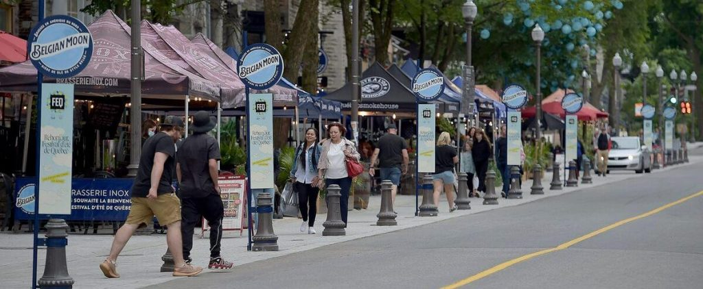 Quebec City Summer Festival: Local and Ontario Tourists Turn the Grand Alley