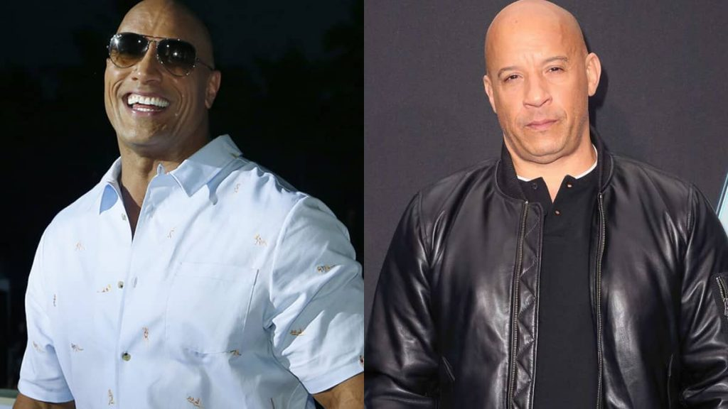 The Rock laughed out loud at Vin Diesel's explanation of their fight