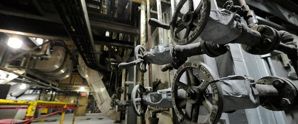 The city closes financing for the steam distribution project