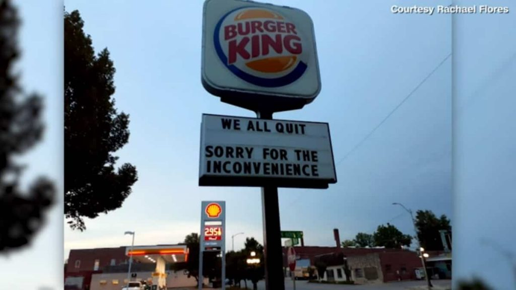 'We're all quitting': Burger King employees brag about their departure