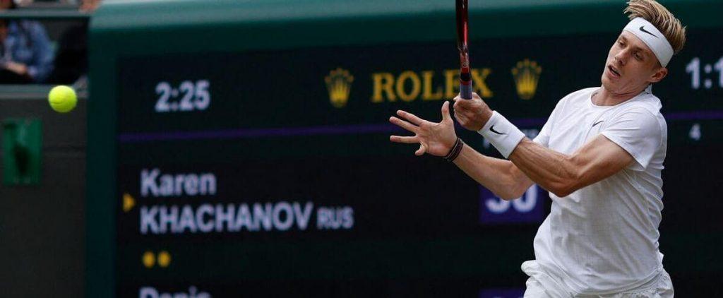 Wimbledon: Denis Shapovalov aces