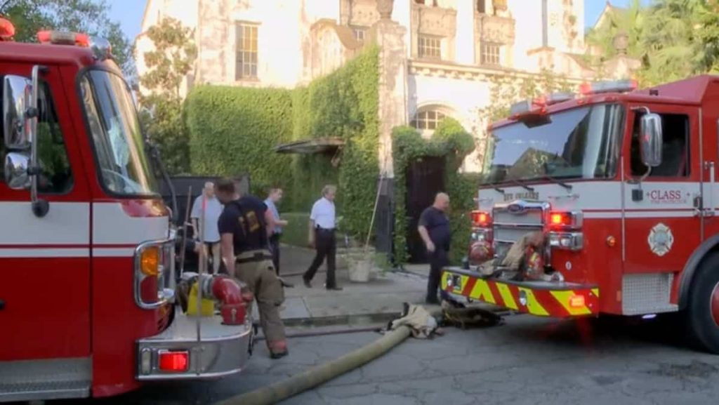 in pictures    Jay-Z and Beyonce's $3 million home burned down in arson
