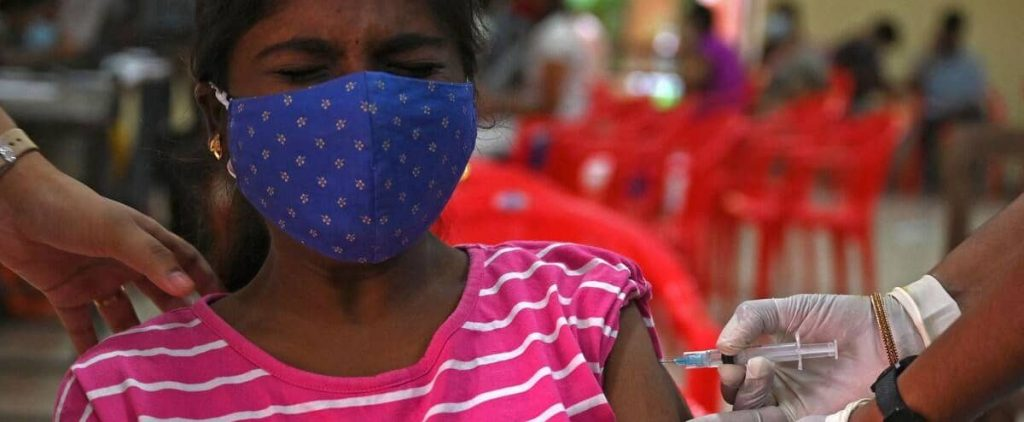 10 million people were vaccinated within 24 hours in India