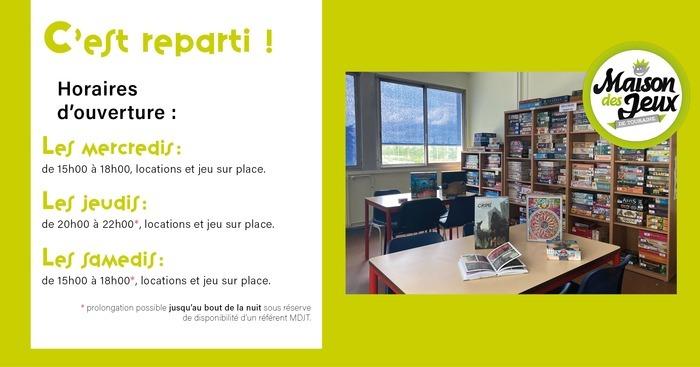 Soirée jeux à la ludothèque Espace Toulouse Lautrec